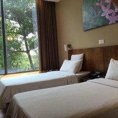 Отель Siloso Beach Resort, Sentosa 3* Улучшенный номер с различными типами кроватей фото 2