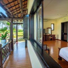 Отель Agribank Hoi An Beach Resort 3* Вилла с различными типами кроватей фото 15