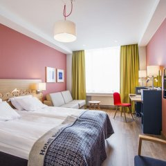 Отель Hotell Bondeheimen 3* Стандартный семейный номер с двуспальной кроватью фото 2