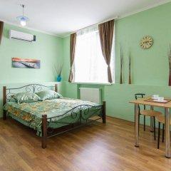 Гостиница Колумб Студия разные типы кроватей фото 32