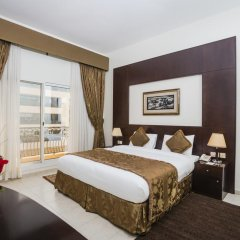 Arabian Dreams Deluxe Hotel Apartments 4* Студия Делюкс с различными типами кроватей фото 2