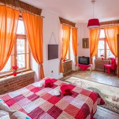 Гостиница Historical Center of Lviv комната для гостей фото 2