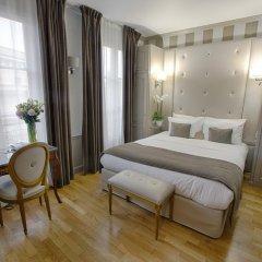 Отель Eiffel Trocadéro 4* Улучшенный номер с различными типами кроватей фото 4