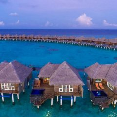 Отель Sun Aqua Vilu Reef 5* Вилла с различными типами кроватей фото 7