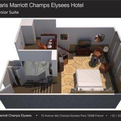 Paris Marriott Champs Elysees Hotel 5* Полулюкс фото 4