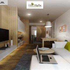 Отель Hill Myna Condotel 3* Люкс 2 отдельные кровати фото 8