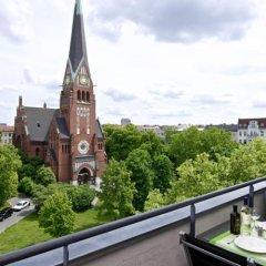 Отель Art'Appart Suiten Германия, Берлин - 1 отзыв об отеле, цены и фото номеров - забронировать отель Art'Appart Suiten онлайн балкон