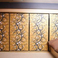 SAMURAIS HOSTEL Ikebukuro Стандартный семейный номер с двуспальной кроватью фото 9