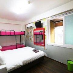 Отель Apple Backpackers 2* Стандартный семейный номер с различными типами кроватей фото 2