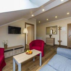 Отель Aparthotel Lublanka 3* Люкс с различными типами кроватей фото 18