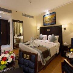 Отель Smana Al Raffa Дубай комната для гостей фото 3