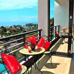 Апартаменты Sea & Sky Karon 2 bedrooms Apartment Sea View балкон