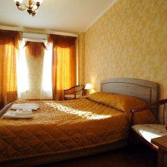 Отель Лермонтов Омск комната для гостей фото 13