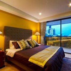 Отель Rocco Huahin Condominium Апартаменты с 2 отдельными кроватями фото 7