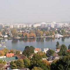 Отель NH Danube City Австрия, Вена - отзывы, цены и фото номеров - забронировать отель NH Danube City онлайн приотельная территория фото 2