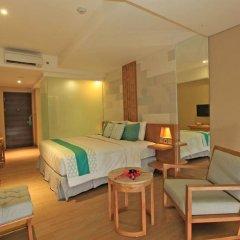Bedrock Hotel Kuta Bali 4* Люкс повышенной комфортности с различными типами кроватей фото 4