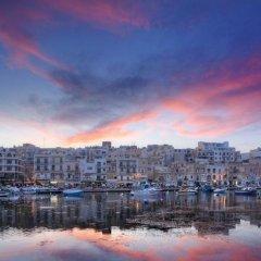 Апартаменты Marsascala Luxury Apartment & Penthouse Марсаскала балкон