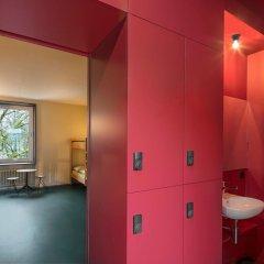 Youth Hostel Bern Кровать в общем номере с двухъярусной кроватью фото 5