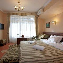 Гостиница Роза Ветров 4* Улучшенный номер двуспальная кровать фото 6