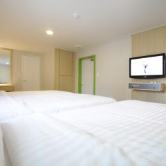 Hotel Sleepy Panda Streamwalk Seoul Jongno 3* Стандартный номер с различными типами кроватей фото 10