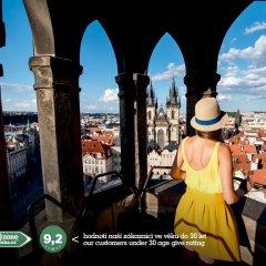 Отель Free Zone-Hostel Praha Чехия, Прага - отзывы, цены и фото номеров - забронировать отель Free Zone-Hostel Praha онлайн приотельная территория фото 2