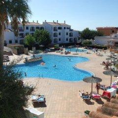 Отель Apartamentos Vista Blanes бассейн
