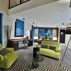 Отель Baud Hôtel Restaurant 4* Люкс с различными типами кроватей фото 10