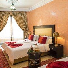 Отель Riad Marrakech House 3* Номер Делюкс с различными типами кроватей фото 4