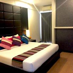 Отель Charoenchit House 2* Номер Делюкс с различными типами кроватей фото 4