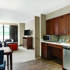 Отель Homewood Suites by Hilton Washington DC Capitol-Navy Yard 3* Люкс с различными типами кроватей
