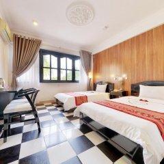 Hai Yen Hotel 3* Улучшенный номер с различными типами кроватей фото 4