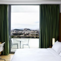 Отель Hilton Athens 5* Представительский номер разные типы кроватей фото 15