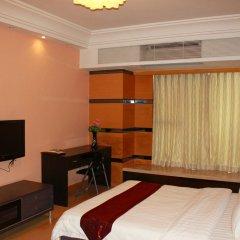 Апартаменты She & He Service Apartment - Huifeng Номер Делюкс с различными типами кроватей фото 9