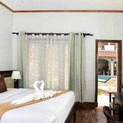 Vansana LuangPrabang Hotel 3* Стандартный номер с различными типами кроватей фото 3
