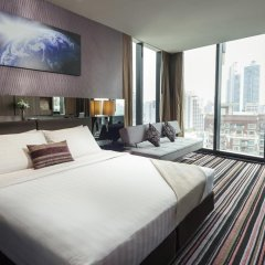 Отель The Continent Bangkok by Compass Hospitality 4* Представительский номер с различными типами кроватей фото 6