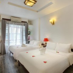 Hanoi 3B Hotel 2* Стандартный семейный номер с двуспальной кроватью фото 7