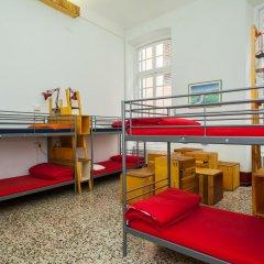 Ostellin Genova Hostel Кровать в общем номере