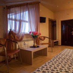 Мини-отель Бархат Номер Комфорт двуспальная кровать фото 5