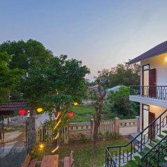 Отель Tra Que Flower Homestay балкон