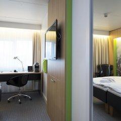 Thon Hotel Bergen Airport 3* Стандартный номер с различными типами кроватей фото 4