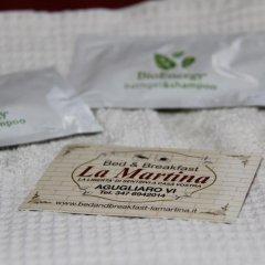 Отель B&B La Martina Италия, Лимена - отзывы, цены и фото номеров - забронировать отель B&B La Martina онлайн ванная