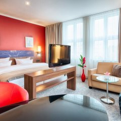 Leonardo Royal Hotel Berlin 4* Стандартный номер с различными типами кроватей фото 5