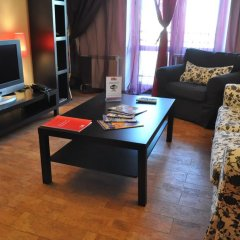 Апартаменты Four Squares Apartments Polyanka Студия фото 18
