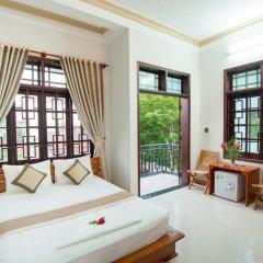 Отель Tra Que Flower Homestay Стандартный номер с двуспальной кроватью фото 23
