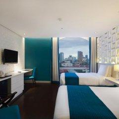 Отель The Bayleaf Intramuros 3* Номер Делюкс с различными типами кроватей фото 3