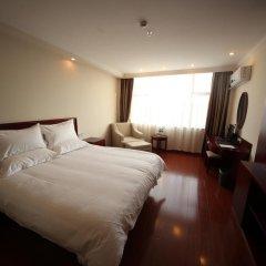 GreenTree Inn Jiangxi Jiujiang Shili Avenue Business Hotel 2* Номер Бизнес с различными типами кроватей