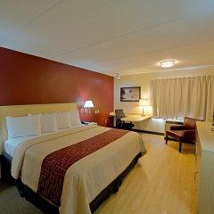 Отель Red Roof Inn PLUS+ Miami Airport 2* Улучшенный номер с различными типами кроватей фото 4