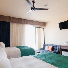 Отель Isla Natura Beach Huatulco 5* Стандартный номер с различными типами кроватей фото 2