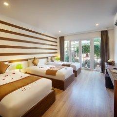 Vinh Hung 2 City Hotel 2* Улучшенный номер с различными типами кроватей фото 5
