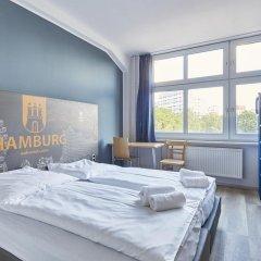 A&o Hotel Hamburg Hauptbahnhof Стандартный семейный номер фото 3
